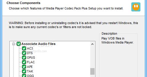 Media Player Codec Pack 4 4 9