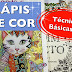 LÁPIS DE COR: Técnicas Básicas #4 (COLOR PENCIL: Basic Techniques # 4) - VÍDEO