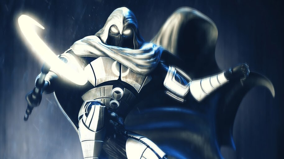 Moon Knight, Marvel, Superhero, 4K, #6.2119