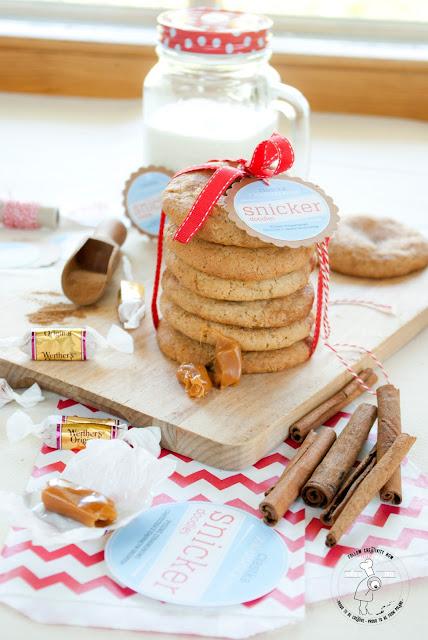 przepis na ciastka karmelowe solony karmel jak upiec proste ciasteczka cynamon amerykańskie cookies
