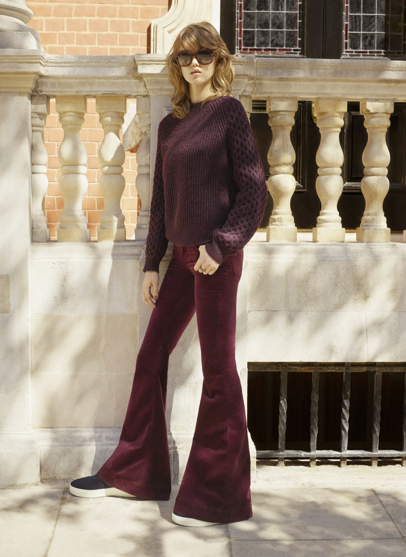 Lindsey Wixson for Fall '15 for  Bergdorf Goodman Catalogue