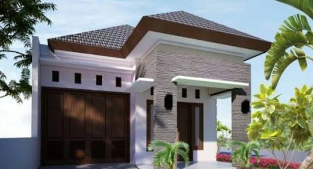 Bentuk Rumah Sederhana tapi Elegan dan Mewah