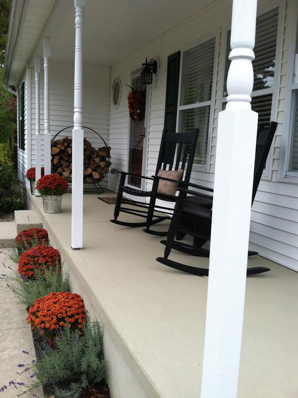 Resurfacing Concrete Porch Makeover