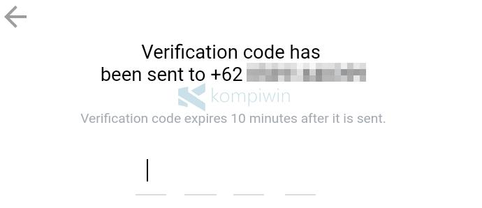 kode verifikasi bbm