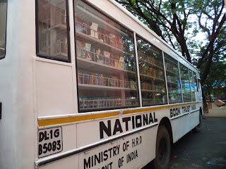 Library Photogallery - National Book Trust Book Mobile in KV Kanjikode
