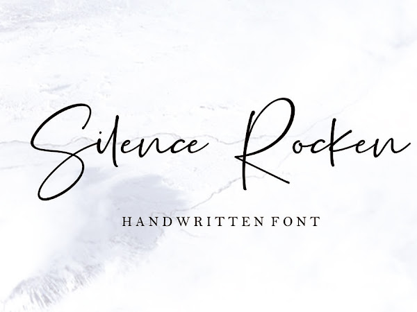 Silence Rocken Signature Font Free Download