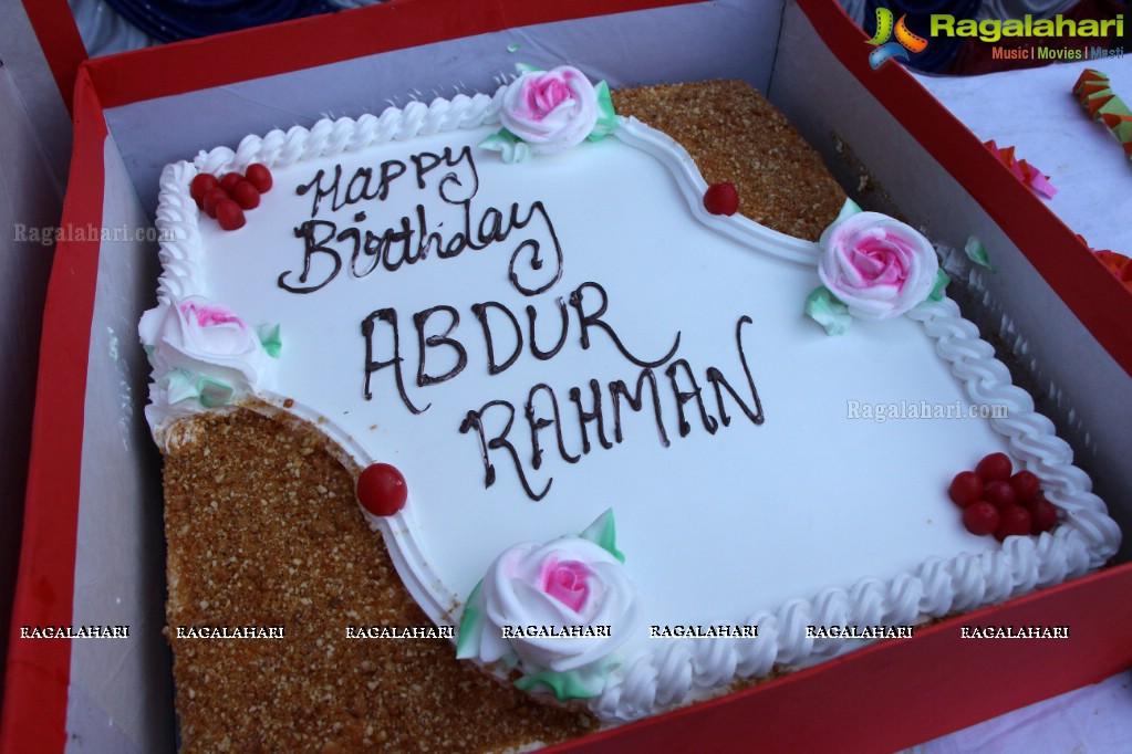 Birthday Name Cake Happy Birthday Abdur Rahman Cake