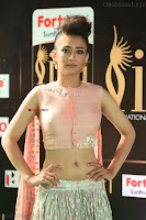 Akshara Haasan in Peach Sleevless Tight Choli Ghagra Spicy Pics ~  Exclusive 34.JPG