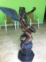 pintar una estatua