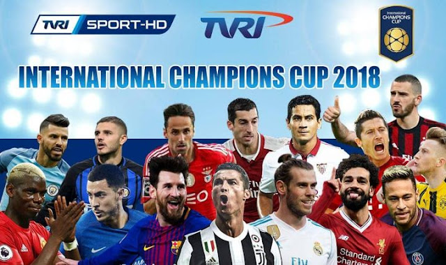 Jadwal Siaran Langsung ICC Kamis 26 Juli 2018 TVRI & iNews TV