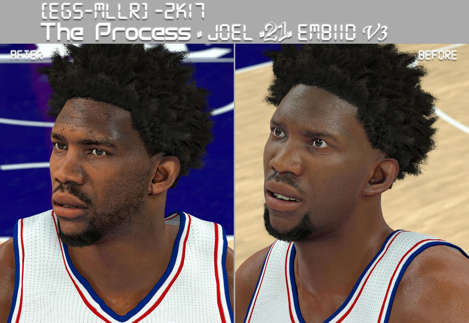 DNA Of Basketball | DNAOBB: NBA 2K17 Joel Embiid Cyberface ...