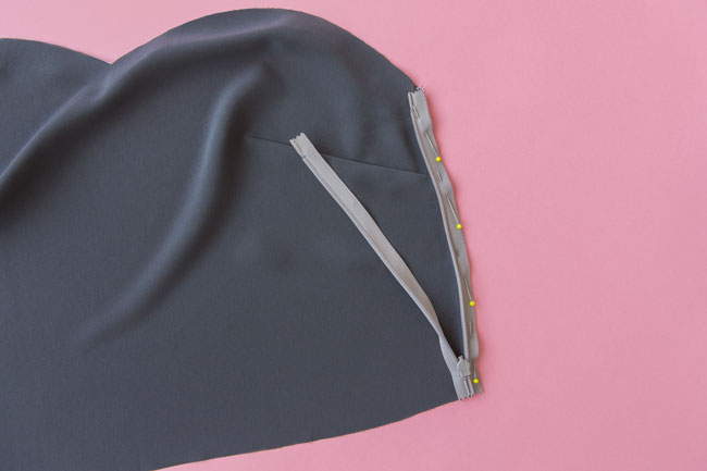 How to sew an invisible zip - Tilly and the Buttons