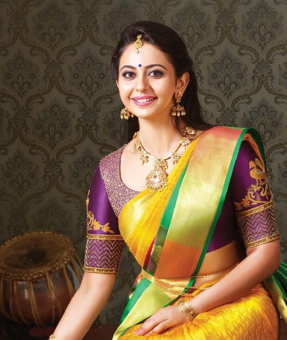 Rakul Preet Singh Antique Necklace