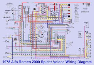 1978 alfa romeo 2000 spider veloce wiring diagram auto. Black Bedroom Furniture Sets. Home Design Ideas