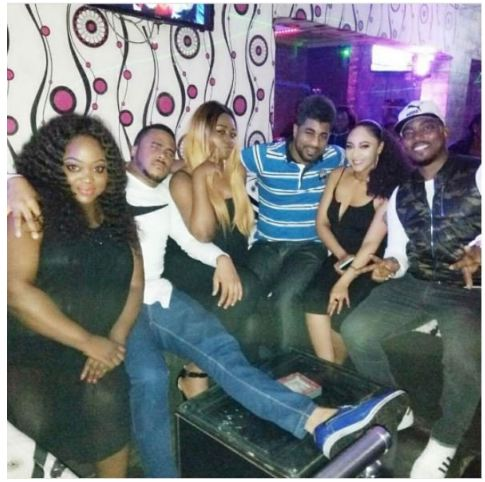 BBNaija's Thin Tall Tony 'Marries' Tonto Dikeh's Alleged Nightmare, Rosaline (Photos)
