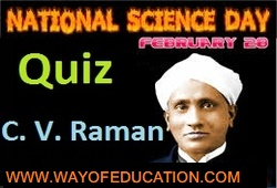 National Science Day Quiz (28 February)