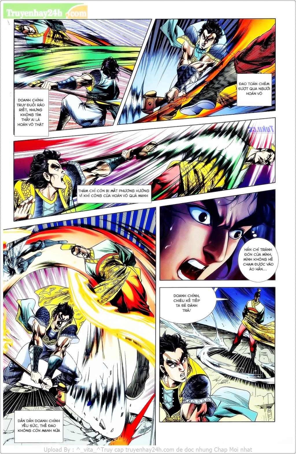 Tần Vương Doanh Chính chapter 23 trang 24