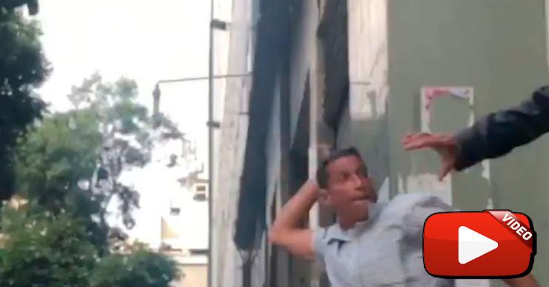 Chvistas liderados por Cabeza e Mango atracaron a los diputados de la AN al salir de la sesión