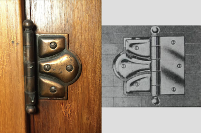 Sears house hinge