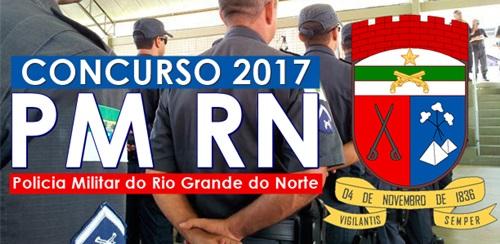 Edital para Concurso PM RN 2017 será publicado em Abril 2017