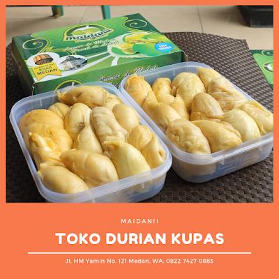 toko durian kupas medan