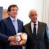 """""""Pacto de caballeros"""": el acuerdo que ayer firmaron Rodolfo D'Onofrio, Daniel Angelici y Alejandro Domínguez"""