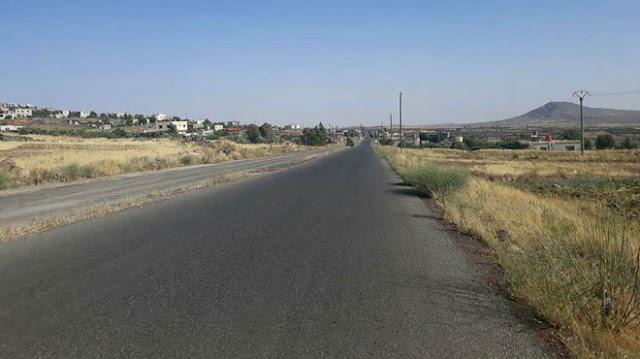 مطالب بإعادة تأهيل المدخل الشمالي لمدينة صلخد بالسويداء