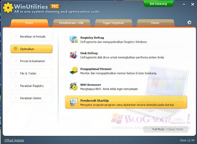 WinUtilities Professional Crack 12.44 Terbaru