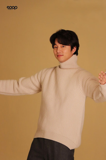 孔劉經紀公司SOOP更新近期拍攝廣告系列花絮照