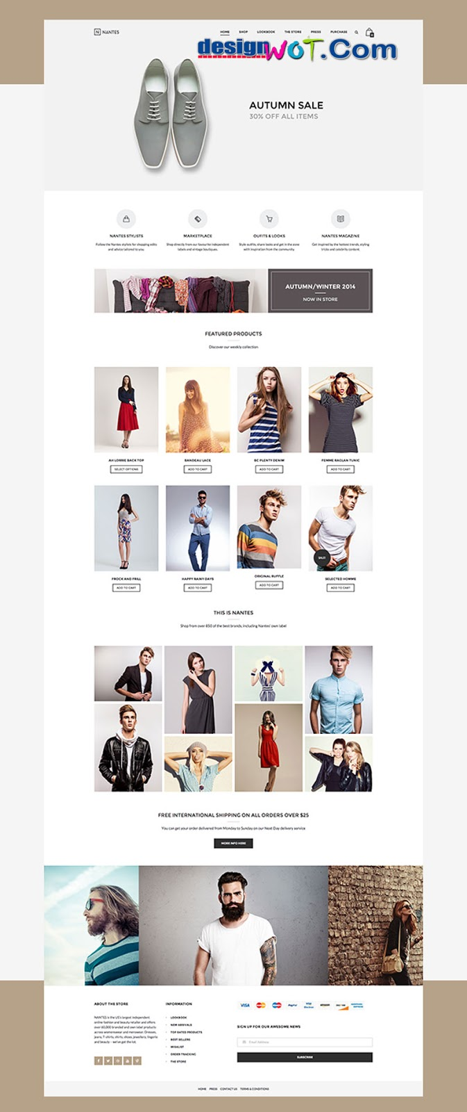 Nantes - Creative Ecommerce and Corporate Theme