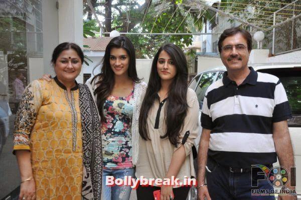 , Tiger & Kriti at Heropanti Screening Hosted By Director Sabbir Khan