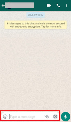how to delete whatsapp message after read