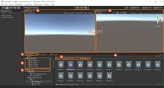 Pengenalan Menu Window Pada Unity3D 5.3
