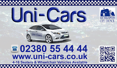 Business card design for Uni-Cars