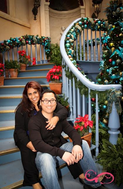 Disneyland Engagement Shoot - Court de Angels