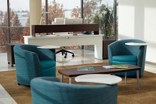 Global Sirena Tablet Chairs