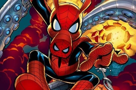 asal-usul spiderham kekuatan spider-ham