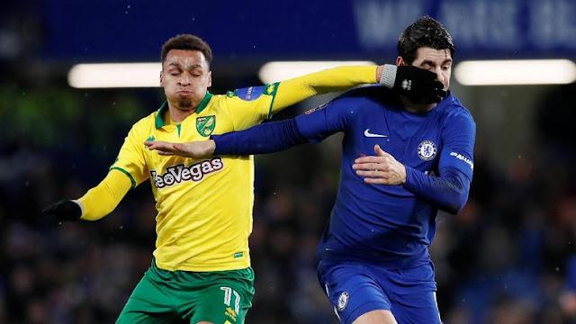 Piala FA: Pedro dan Morata Dikartu Merah, Chelsea Kalahkan Norwich Lewat Adu Penalti