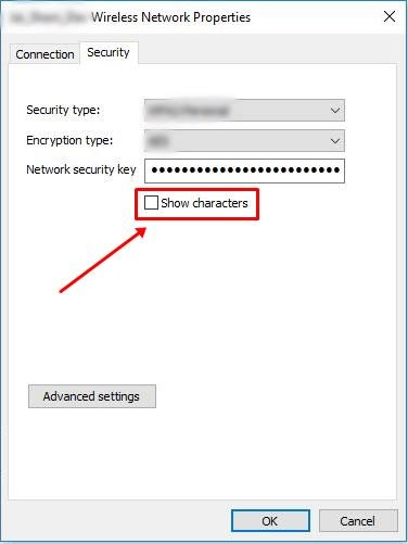 Find Saved Wi-Fi Passwords in Windows 10