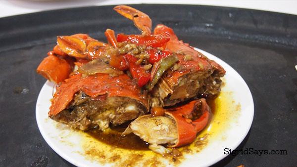 Alimango at Hyksos Pala-pala - Bacolod restaurant