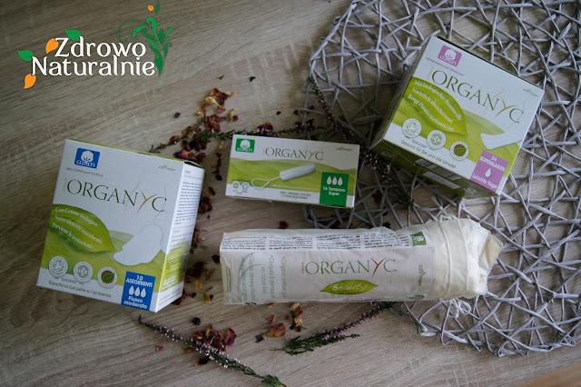 Higiena intymna naturalnie oraz płatki kosmetyczne marki Organyc