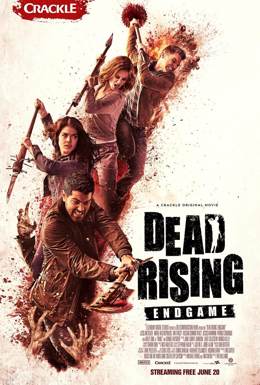 Dead Rising: Endgame ganha trailer e poster
