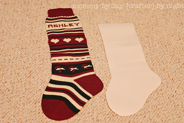 make a gorgeous quilted christmas stocking holiday tutorial