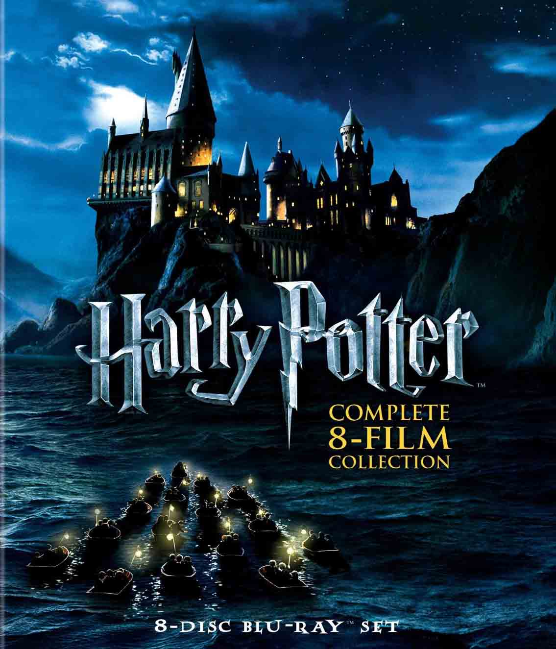 Harry Potter Coleção Completa Torrent – BluRay 720p e 1080p Dublado