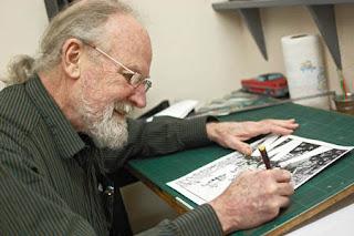 Gilbert Shelton, homenaje en el Cryptshow 2017