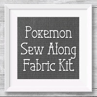 Pokemon Sew Along Fabric Kit