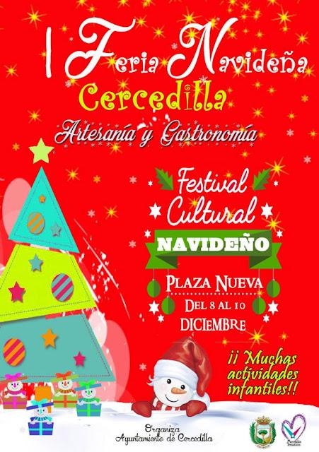 Feria Navideña en Cercedilla: gastronomía, artesanía y actividades infantiles