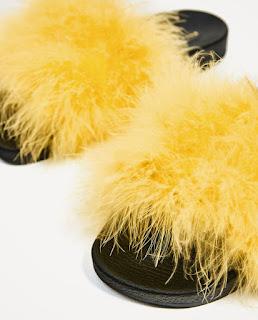 Pala plumas amarillas - Zara