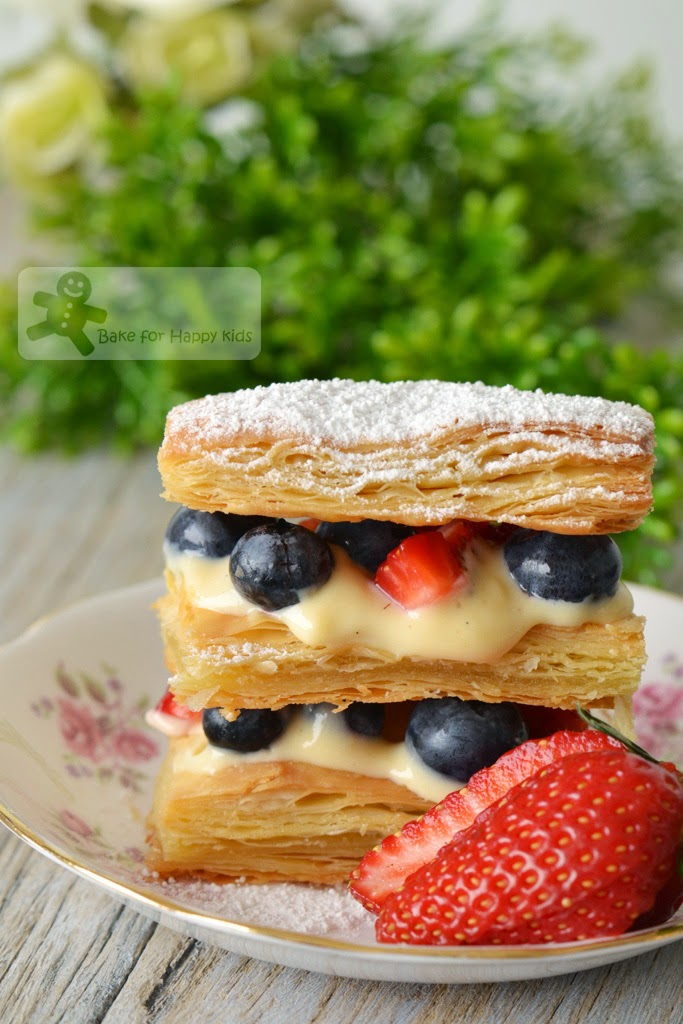 Mille-feuille summer berries Sarabeth's Bakery