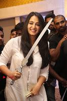 Actress Anushka Shetty New Pos in White Dress at World Of Baahubali Launch  0008.JPG